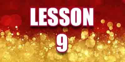Lesson 9